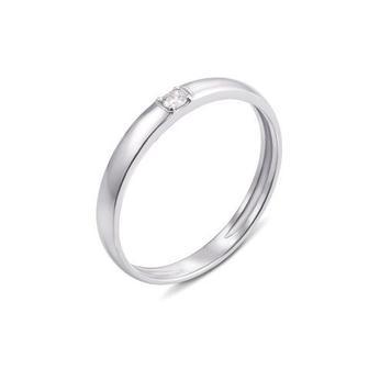 Обручальное кольцо с бриллиантом Артикул 10154/2.25б