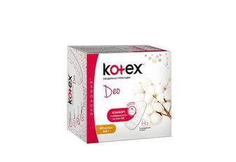 Прокладки щоденні Lux Normal Deo Liners Kotex 60 шт.