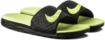Тапочки для басейну Nike BENASSI SOLARSOFT 705474-070 р. 13 чорний