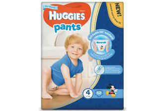 Підгузки-трусики Huggies Pants для хлопчиків 5 (12-17 кг) 44шт./уп