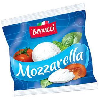Сир Benucci Mozzarella м який 100г
