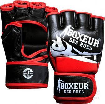 Рукавички для MMA Boxeur BXT-5135 р. S чорний із червоним