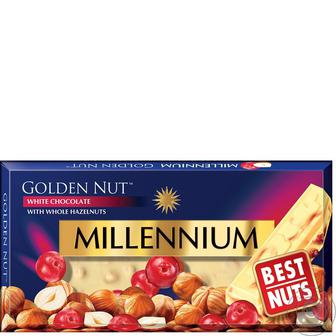 ШОКОЛАД Golden Nut, 100 г MILLENNIUM