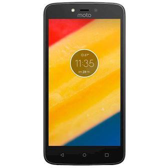 Смартфон MOTOROLA Moto C Plus XT1723 Dual Sim Black, PA800125UA