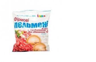 Пельмени Фирменные свино-говяжьи, LASKA, 400г
