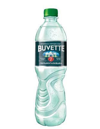 Вода мінеральна сильногазована №7 Buvette 1,5л