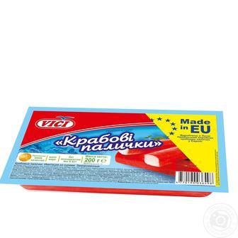 Крабові палички заморожені Vici 200г