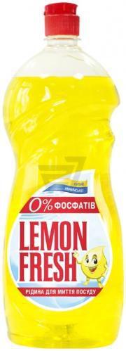 Засіб для ручного миття посуду Gold Drop Lemon Fresh жовтий 1,5л