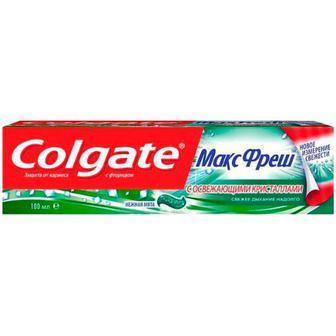 Зубна паста Colgate Макс Фреш ніжна мята 100мл