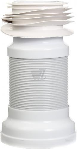 Труба гофрована для унітазу ScandiSPA ПВХ d110 L 550 мм