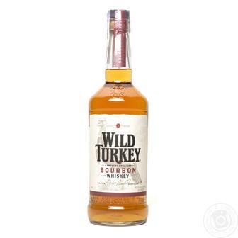 Бурбон 40,5% Wild Turkey, 0,7 л
