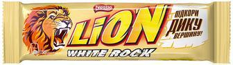 Батончик Lion White Rock, 42 г