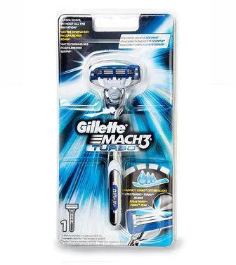Бритва Gillette Mach3 Turbo З 1 картиріджем
