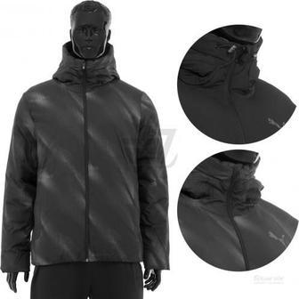 Спортивна куртка Puma Style Reverse Hd Padded Jacket р. XL чорний 83865645