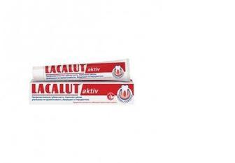 Зубная паста Актив, 75 мл, LACALUT