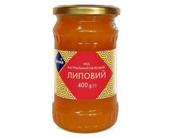 Мед «Премія»® натуральний квітковий липовий, 400г