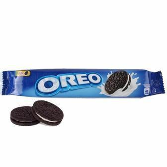 Печиво з какао та кремовою начинкою і ванільним смаком Oreo 95Г