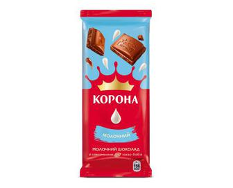 Шоколад Корона, без додатків молочний, 85 г