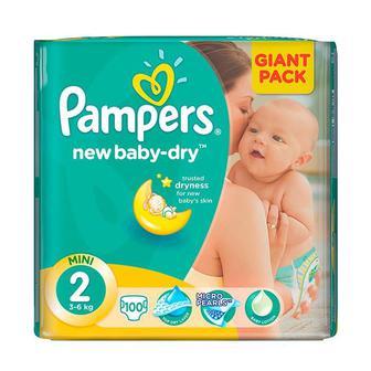 Подгузники Pampers Active Baby (розмір 3 — 58 шт., 4 — 49 шт., 5 — 42 шт.)