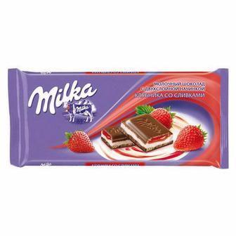 Шоколад з наповнювачем  Milka 300 г