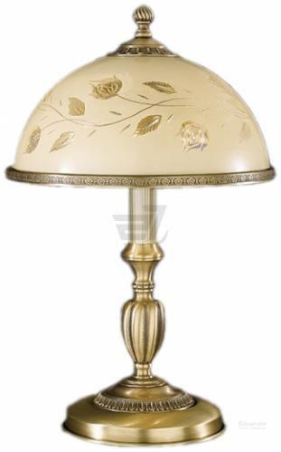 Скидка 20% ▷ Настільна лампа декоративна RECCAGNI ANGELO 1x60 Вт E27 бронзовий P6208M