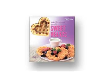 Вафлі солодкі  Sweet Hearts без начинки   Своя лінія  130 г