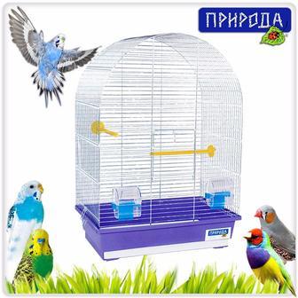 Природа - Клетка для птиц - АРКА большая цинк