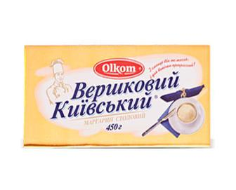 Маргарин вершковий 72,5% жиру Olkom, 450г