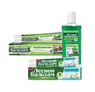 Зубна паста/Ополіскувач ротової порожнини Лесной Бальзам