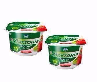 Йогурт 3,3%  Лактонія   Lactel  115 г