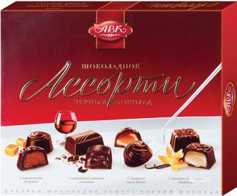 Цукерки шоколадні, Асорт, 200г