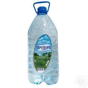 Вода Прозора питьевая негазированная 6л