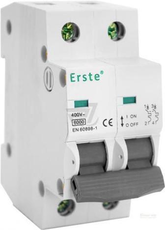 Автоматичний вимикач Erste EB5-63 3P 32A тип С 6кА