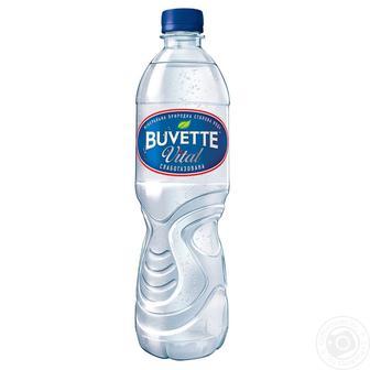 Вода негазована/Слабогазована Buvette Vital 1,5л