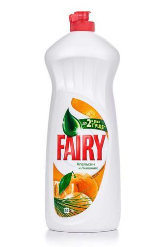 Средство для мытья посуды FAIRY Апельсин и лимонник, 1л