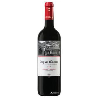 Вино червоне сухе Алазані або  Сапераві-Дзелшаві Старый Тбилиси  0.75 л