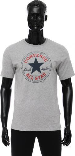 Футболка Converse CORE CHUCK PATCH TEE Carry-Over 10002848-035 L сірий