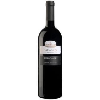 Вино Badagoni Піросмані червоне напівсухе 0,75л