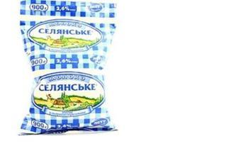 """Молоко суперпаст. TFA 2,5%, """"Селянське"""", 900г"""