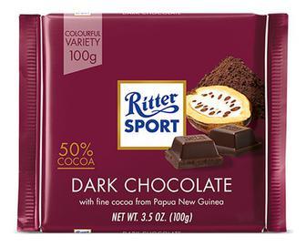 Шоколад темний Ritter Sport, 100г