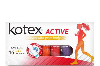 Тампони Kotex Active Normal, 16шт./уп