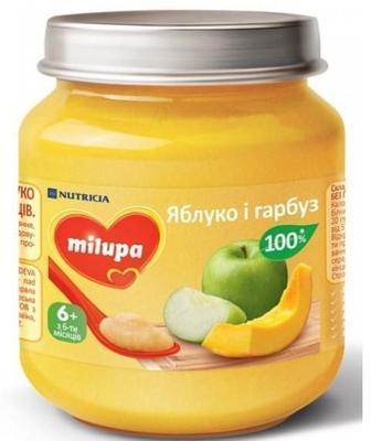 Пюре Milupa яблоко и тыква (с 6 месяцев) 125 г