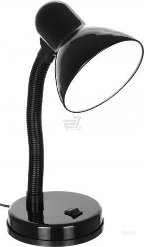 Настільна лампа офісна Accento lighting 1x40 Вт E27 чорний ALYU-DE4030-BK