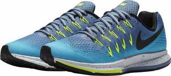 Кросівки Nike Air Zoom Pegasus 33 Shield Womens Running Sneakers Shoes 849567-400 р.8 синій