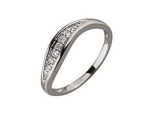 Золотое кольцо с бриллиантами Артикул 01-17506399