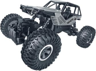 Автомобиль Sulong Toys Off-Road Crawler на р/у Rock серебристый 1:18 (SL-111S)