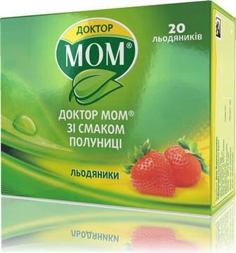 Доктор Мом клубника паст №20