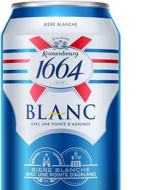 Пиво Kronenburg 1664 Бланк світ.4,8%, з/б, 0,33л