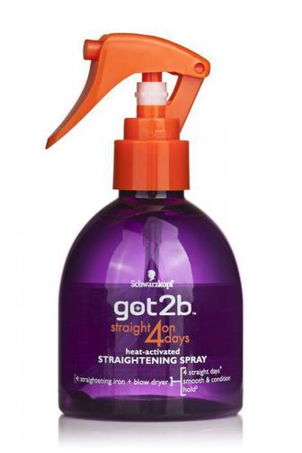 Срей для випрямления волос got2b crazy sleek 200 мл