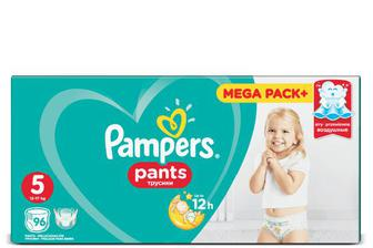 Підгузки-трусики Pampers Pants Mega Pack+ Junior (12-17 кг) 96 шт./уп